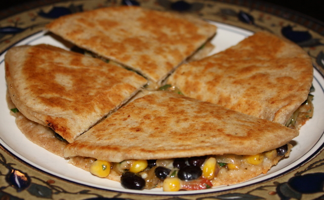 Corn And Black Bean Quesadillas Recipes — Dishmaps
